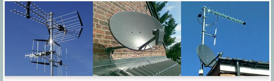 Image result for TV Aerial or satellite installation